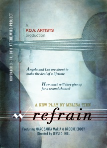 REFRAIN poster (front)